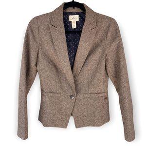 Levi's Brown Brushed Women's Blazer Sz XS